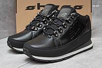 Мужские зимние кроссовки New Balance 754 черно/белые