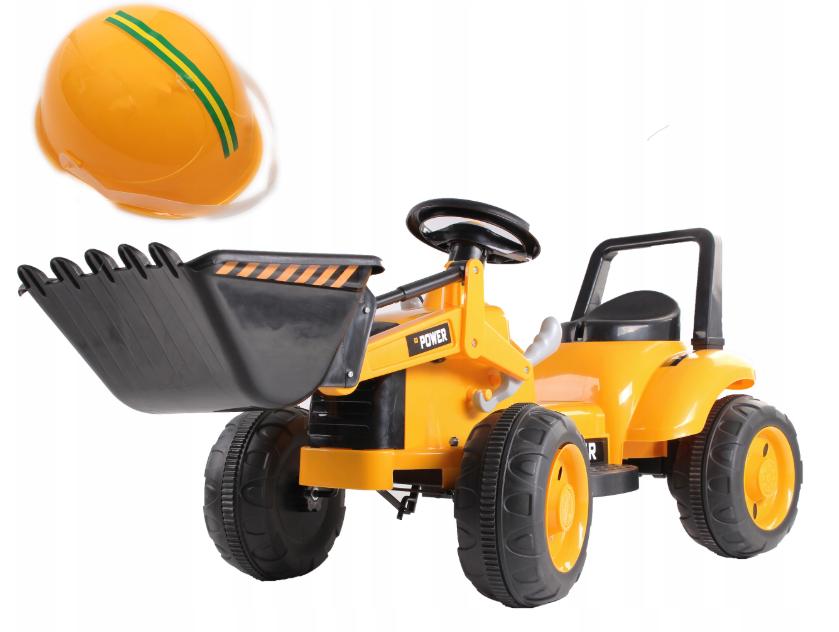 Детский трактор, бульдозер, Экскаватор на аккумуляторе