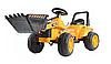 Детский трактор, бульдозер, Экскаватор на аккумуляторе, фото 2