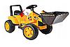 Детский трактор, бульдозер, Экскаватор на аккумуляторе, фото 3