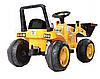 Детский трактор, бульдозер, Экскаватор на аккумуляторе, фото 4