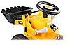 Детский трактор, бульдозер, Экскаватор на аккумуляторе, фото 5