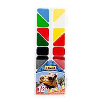 """Краски акварельные медовые """"Economix Africa"""" 12 цветов"""