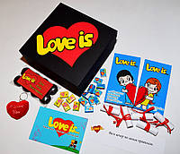 Великий подарунковий набір для закоханих з Лав (Love is)