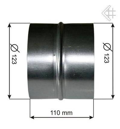 Соединение Ø125, фото 2