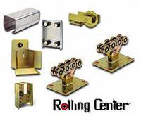 Комплект Rolling Center BASIC для ворот до 450 кг, проем до 4,5м, от 3,5 - 4,5 м, до 450 кг, Черная 3,5 мм, 7м (6+1)