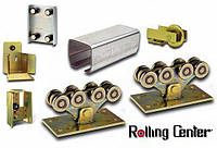 Комплект Rolling Center STANDART для ворот до 600 кг, проем до 8м, от 7,5 - 8 м, до 600 кг, Черная 5 мм, 8м (6+2)