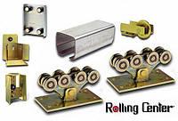 Комплект Rolling Center STANDART для ворот до 600 кг, проем до 8м, от 7,5 - 8 м, до 600 кг, Черная 5 мм, 12м (6+6)