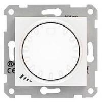 Светорегулятор поворотно-нажимной индуктивный 40-1000 Вт Белый Sedna SDN2200921