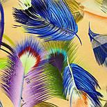 Палантин из вискозы 10811-2, павлопосадский палантин из вискозы, размер 65х200, фото 3