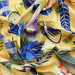 Палантин из вискозы 10811-2, павлопосадский палантин из вискозы, размер 65х200, фото 7