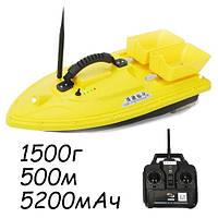 Кораблик для завоза прикормки катер Lingboxianzi T188 1.5кг 500м