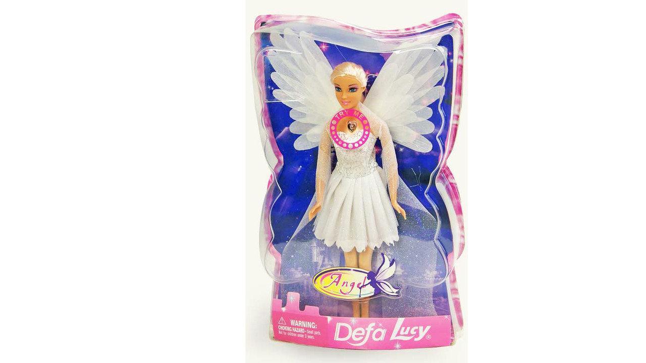 Кукла Defa Lucy Ангел светящиеся крылья 29 см (8219)