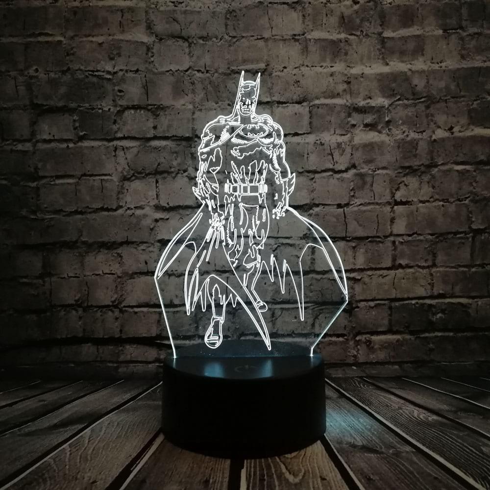 Сменная панель для 3D светильника 3D Lamp Бетмен (SP-3114)