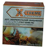 Омедненная сварочная проволока X-TREME ER 70S-6 (0,8 мм х 5 кг), фото 1
