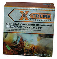 Омедненная сварочная проволока X-TREME ER 70S-6 (0,8 мм х 5 кг)