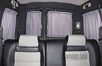 Автомобильные шторки для  Renault Kangoo Рено канго серые