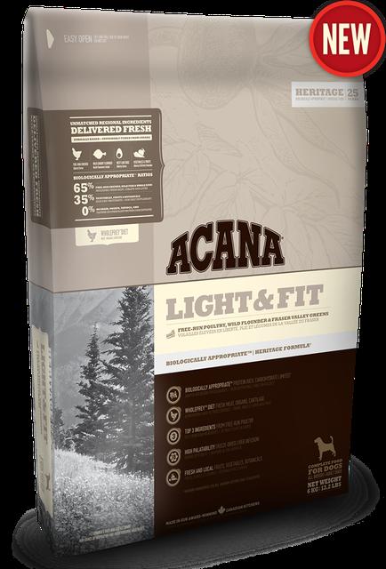Сухой корм Acana (Акана) Adult Light and Fit для собак с избыточным весом 6 кг