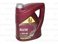 Моторное  синтетическое масло Mannol (Манол) Elite 5w40 5л.