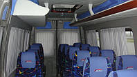 Шторки на для микроавтобуса Fiat Ducato серый