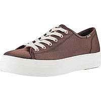 Кроссовки Keds Triple Kick Metallic Shantung Rose Metallic Shantung - Оригинал