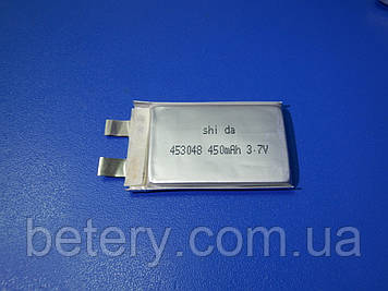 Аккумулятор Li-pol Shida 453048 (SP) 3,7v 450mAh-20С