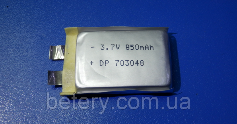 Акумулятор Li-pol DESIRE 703048 3,7 v 850mAh-25С