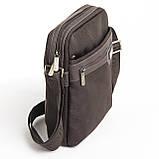 Мужская сумка BAOHUA 21 х 26 х 8 см Коричневая, фото 2