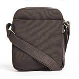 Мужская сумка BAOHUA 21 х 26 х 8 см Коричневая, фото 3