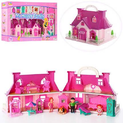 Кукольный домик Tiny dreams Розовый (8039), фото 2