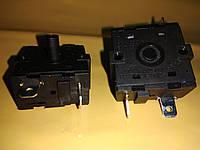 Переключатель для тепловинтиляторов бойлеров электродуховок 4 - х клемный 3-х позиционный