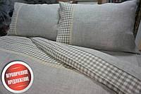 Комплект постельного белья Дуэт, лен нав. 50/70см (Евро)