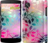 """Чехол на LG Nexus 5 Листья """"2235c-57"""""""