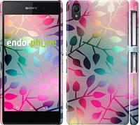 """Чехол на Sony Xperia Z2 D6502/D6503 Листья """"2235c-43"""""""