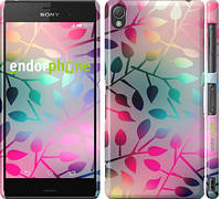 """Чехол на Sony Xperia Z3 D6603 Листья """"2235c-58"""""""