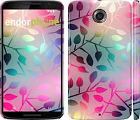 """Чехол на Motorola Nexus 6 Листья """"2235c-67"""""""