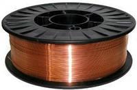 Омедненная сварочная проволока ER 70S-6 (0,8 мм х 1 кг), фото 1