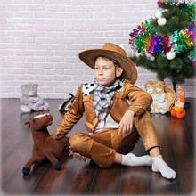 Новогодний костюм для мальчика   Ковбой