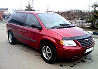 Дефлектор капота  Chrysler Town с 2007–2010, Мухобойка Chrysler Town&Country
