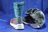 Подростковые непромокаемые термосапоги, сноубутсы в стиле Puma Trinomic, фото 4