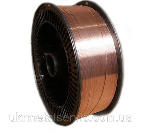 Проволока Св-08Г2С омедненная 1,2 мм  (кассета 15 кг), фото 2