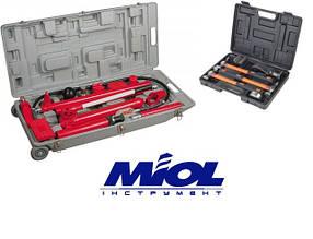 Растяжка гидравлическая 10 т Miol 80-412 с набором инструмента для рихтовки