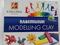 "Пластилин Луч ""Дитинство"" (Класика) 16 цв, фото 1"