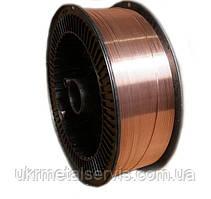 Проволока Св-08Г2С омедненная 1,6 мм  (кассета 15 кг)