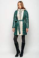 Зимняя удлинённая Куртка K&ML -17307