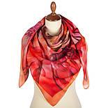 10290-4, павлопосадский платок шерстяной (разреженная шерсть) с швом зиг-заг, фото 2