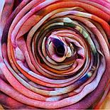 10290-4, павлопосадский хустку вовняної (розріджена шерсть) з швом зигзаг, фото 7