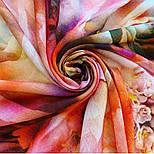 10290-4, павлопосадский платок шерстяной (разреженная шерсть) с швом зиг-заг, фото 4