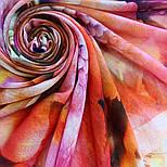 10290-4, павлопосадский платок шерстяной (разреженная шерсть) с швом зиг-заг, фото 8