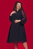 Женское нарядное платье большого размера.Размеры:48-58.+Цвета